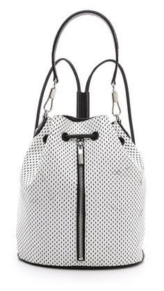 Oof, crushing hard on this bucket bag that converts to a backpack