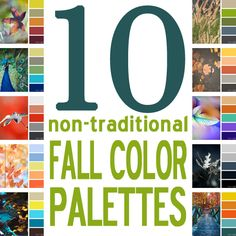 10 Non-Traditional Fall Color Palettes For Every Home {from Blue i Style}