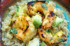 spicy margarita shrimp.