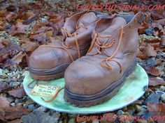 Сarved 3D Boots cake tutorial
