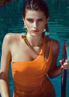 Isabeli Fontana for Morena Rosa swimwear