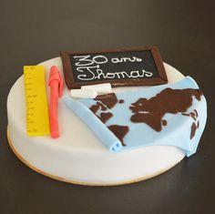 Gâteau thème géograp