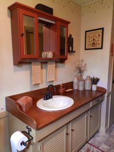 new bathroom counter