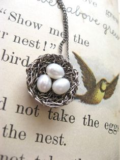 Bird Nest Necklace