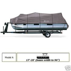StormPro Heavy Duty Canvas Pontoon Boat Cover 17-20 ft  $289.95  Heavy-duty trailerable pontoon boat cover  Visit us at:    http://stores.ebay.com/Advantage-Distributing  or  www.covers4gear.com