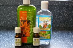 Homemade natural hand sanitizer. No nasty chemicals here! Keep the germs away for back to school.
