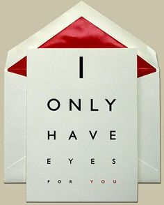 Can you imagine getting this from your optometrist? Too. Cute.