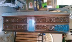 Before picture of Lane Cedar Chest / Bench
