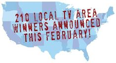 What's the DMA giveaway? 210 local TV area winners will win a grand each!