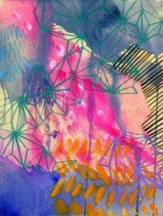 Kayla Newell   Painterly and Geometric inspiration