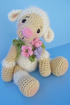 Lamb Crochet PDF Pattern -Simply Cute