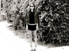 street corner girl