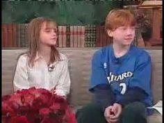 Emma Watson and Rupert Grint 2001 interview