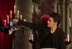 Wine and dine with Paul Wesley here: http://bookfandoms.com/paul-wesley-answers-fan-questions/