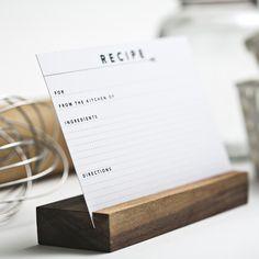 make this -recipe card holder