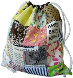 DIY: reversible patchwork bag by phyllis