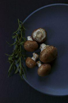 Photographic Essay & Stuffed Portabello With Melting Tallegio Links via @shuliemadnick