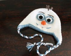 Crochet Olaf Hat on Pinterest Olaf Hat, Crochet Olaf and ...