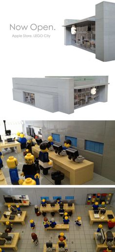 LEGO Apple Store set (I bet Steve Jobs would love this!)