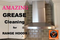Grease Cleaning for Kitchen Hoods