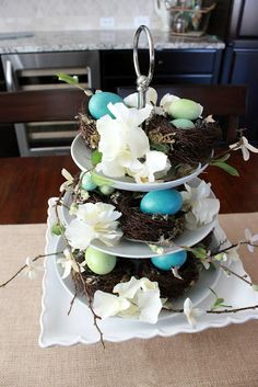 BHG Inspired Easter Centerpiece
