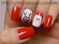 christmas nails...