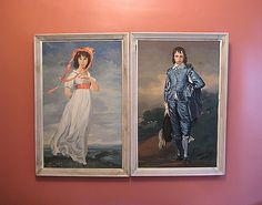 Pinky and The Blue Boy - Vintage Paint by Number Paintings by UncommonEye, via Flickr