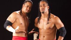 The Uso brothers, Jimmy and Jay
