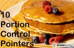 10 Portion Control Pointers Slideshow