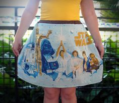 Star Wars Skirt by aPeacockPicnic on Etsy, $25.00