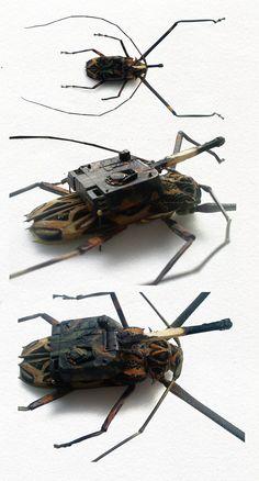 Cyborg insect warfar