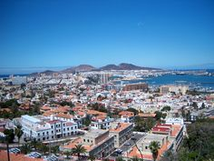 Las Palmas de Gran Canaria , Spain  Gran Canaria is another of the Canaries or Canary Islands ♥