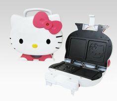 Hello Kitty Sandwich Maker - yum!