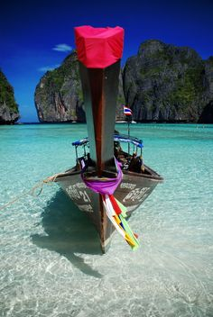 Phuket, Thailand... Crystal clear water, lots of fish when snorkeling. In the city I got custom made suits and dress shirts for work made. *Christina*