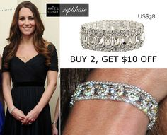 Diamond bracelet repliKate