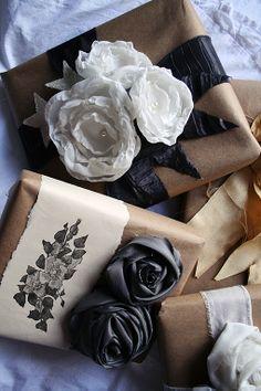Idea para envolver regalos