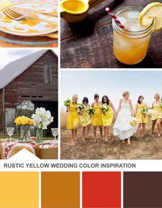 Tuesday Huesday: Rustic Wedding Color Inspiration (http://blog.hgtv.com/design/2013/07/23/tuesday-huesday-rustic-wedding-color-inspiration/?soc=pinterest)