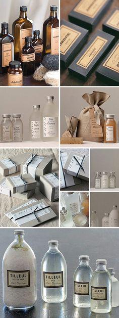 beautiful packaging for bath & body