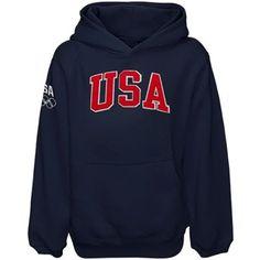 USA Olympics Performance Fleece Hooded Sweatshirt Fanzz.com