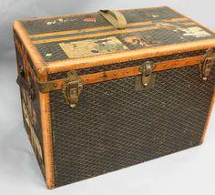 goyard steamer, auction, goyard luggag, garages, garage sales
