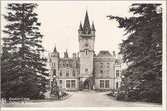Early postcard of Chateau de Miranda. (later called Chateau de Noisy)