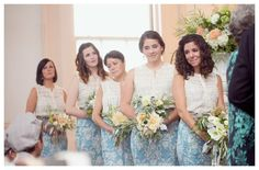 Two Piece Bridesmaids Dresses