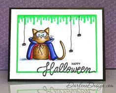 Halloween Cat - with video tutorial.