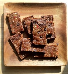 home-made energy bars