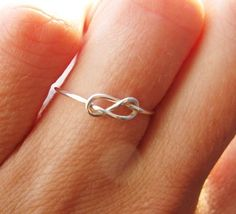 the knot, diamond, infin ring, eternity rings, infinity rings