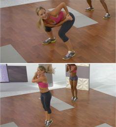 cardio, flat abs, shape magazine, fitness workouts, flat stomach, ab exercises, ab workouts, flats, chop jack