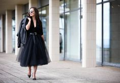 Leather + Tulle | Collaboration, Looks | The Stylemma