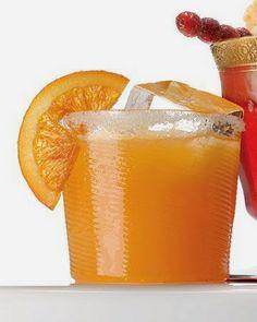 Sparkling Cider and Cara Cara Orange Punch