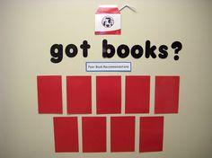 Book recommendation board