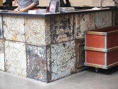 decor, merci store, ceiling tiles, kitchen counters, merci paris